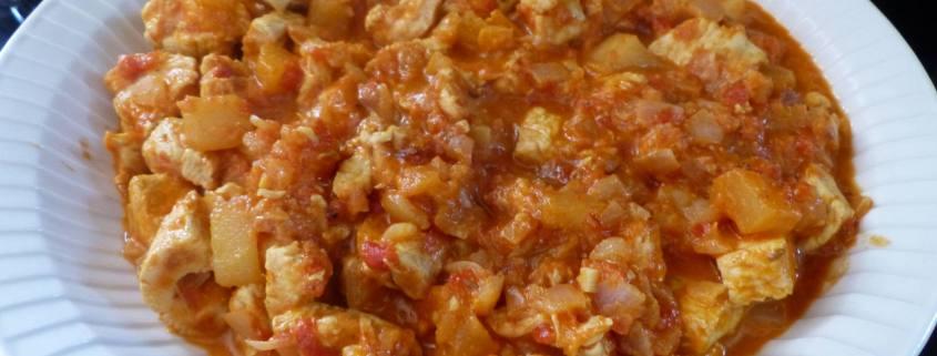 Curry de volaille tomate et pomme P1170379 R