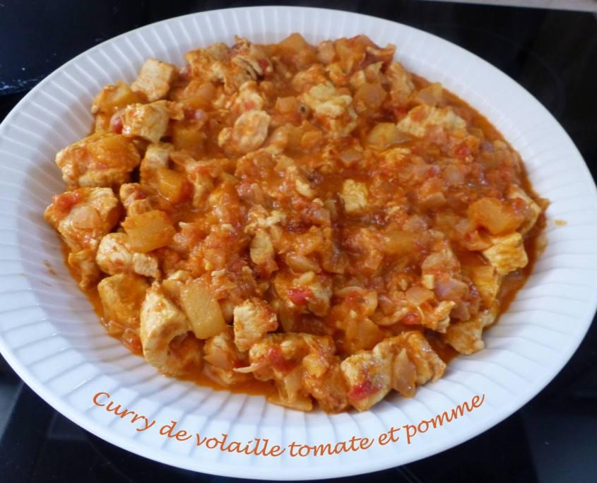 Curry de volaille tomate et pomme P1170380 R