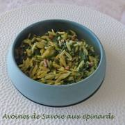 Avoines de Savoie aux épinards P1180086 R