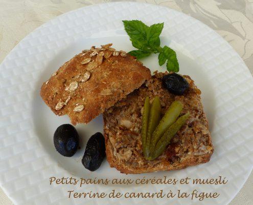 Petits pains aux céréales et muesli P1110497 R