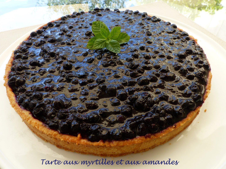 Tarte aux myrtilles et aux amandes P1110857 R