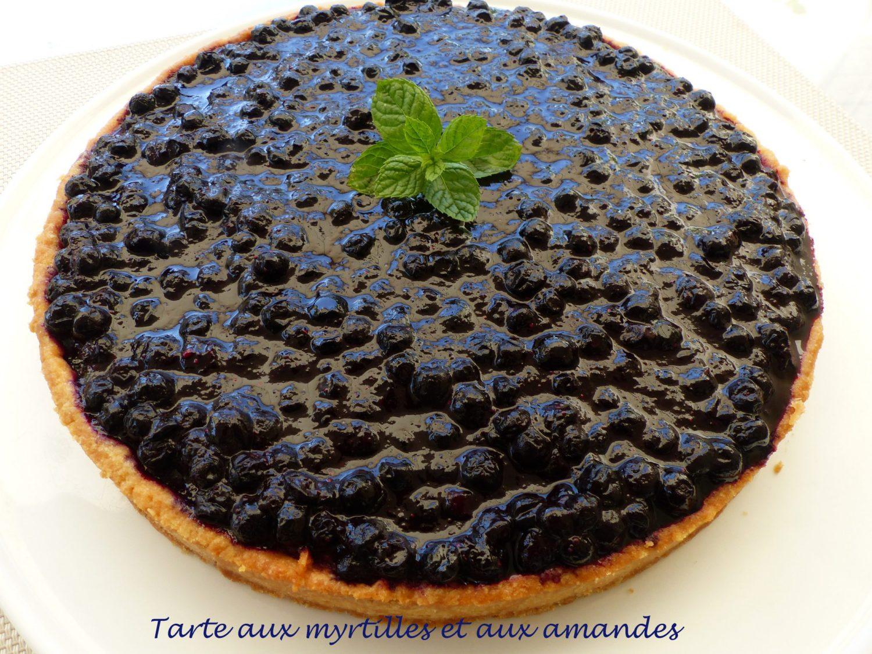Tarte aux myrtilles et aux amandes P1110858 R