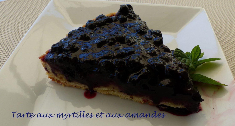 Tarte aux myrtilles et aux amandes P1110860 R
