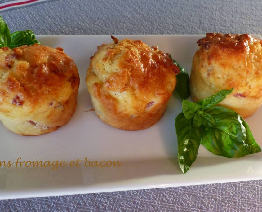 Muffins fromage et bacon P1180643 R