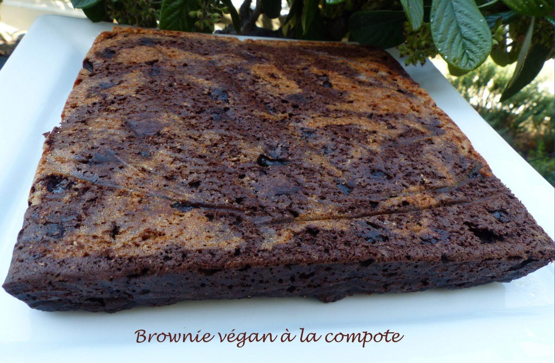 Brownie végan à la compote P1120349 R