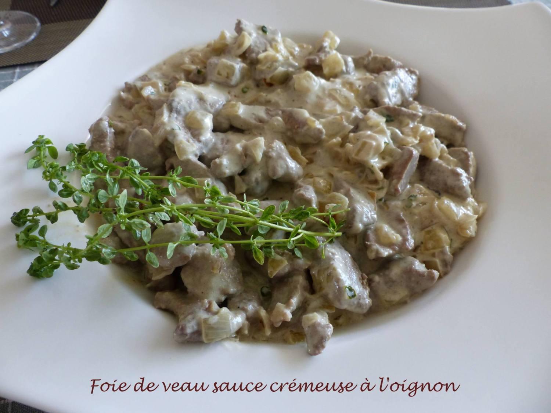 Foie de veau sauce crémeuse à l'oignon P1190033 R