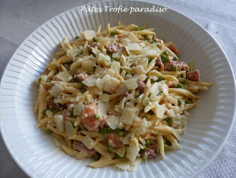 Pâtes Trofie paradiso P1120863 R