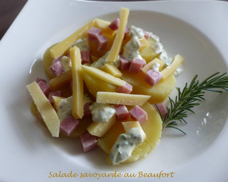 Salade savoyarde au Beaufort P1210042 R