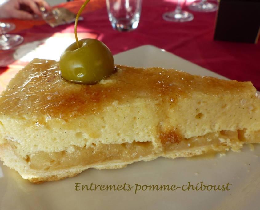 Entremets pomme-chiboust P1210954 R