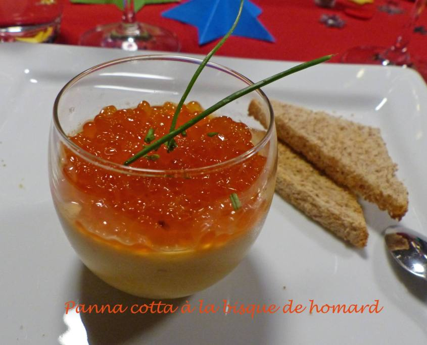 Panna cotta à la bisque de homard P1210924 R