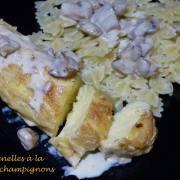 Quenelles à la sauce champignons P1160129 R