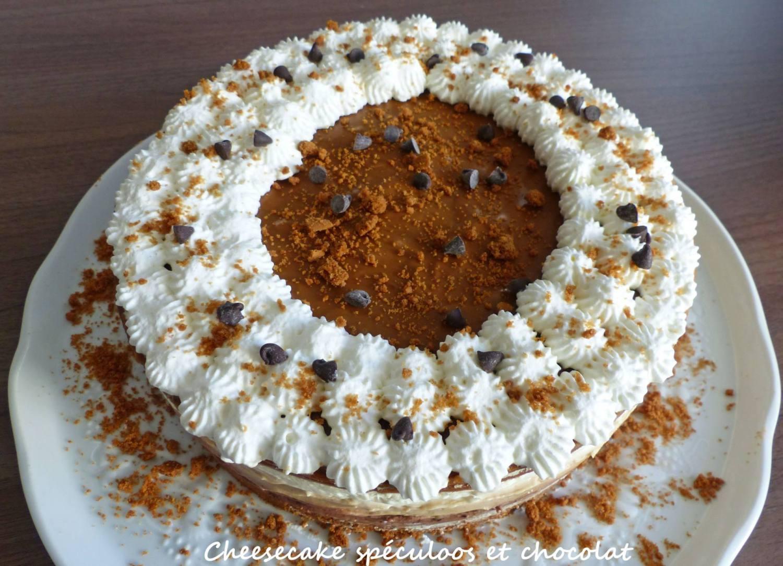 Cheesecake spéculoos et chocolat P1230112 R
