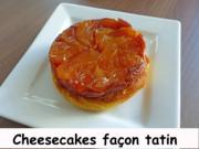 Cheesecakes façon tatin Index P1230429