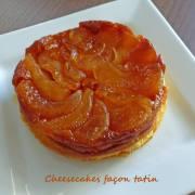 Cheesecakes façon tatin P1230426 R