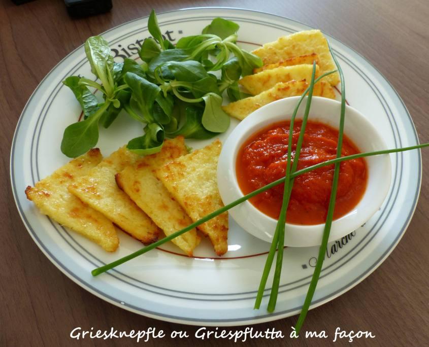 Griesknepfle ou Griespflutta à ma façon P1230835 R