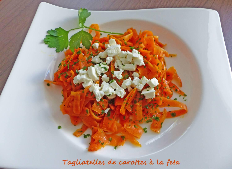 Tagliatelles de carottes à la feta P1230944 R