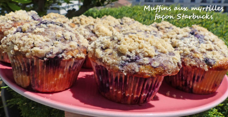 Muffins aux myrtilles façon Starbucks P1240803 R