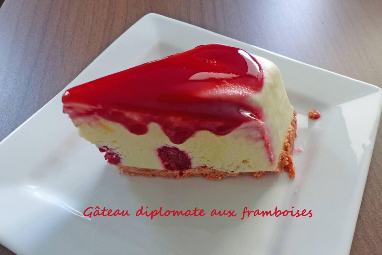 Gâteau diplomate aux framboises P1250902 R