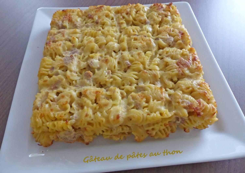 Gâteau de pâtes au thon P1260678 R