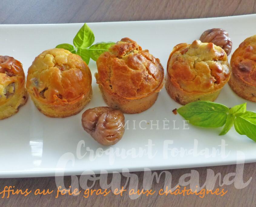 Muffins au foie gras et aux châtaignes P1270145 R