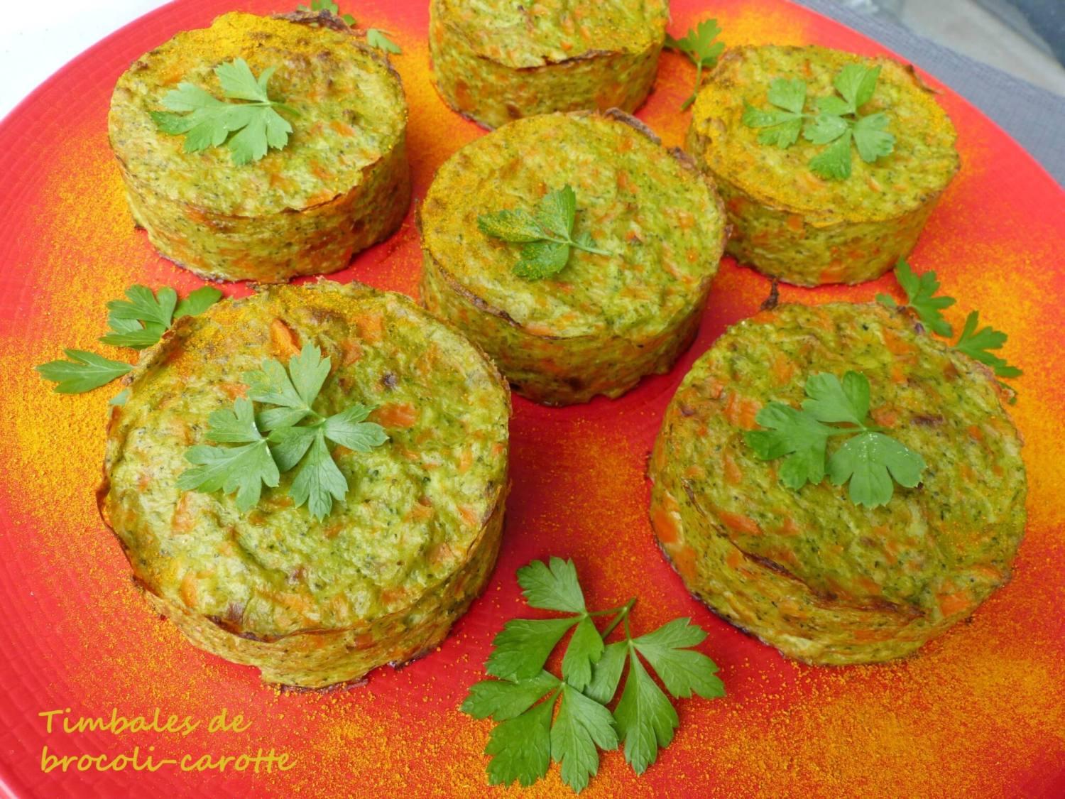 Timbales de brocoli-carotte P1260936 R