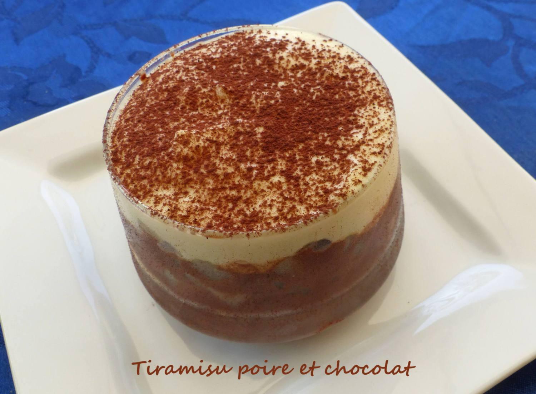 Tiramisu poire et chocolat P1260818 R