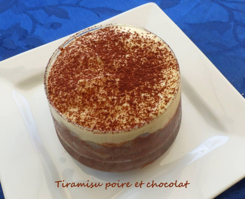 Tiramisu poire et chocolat P1260820 R