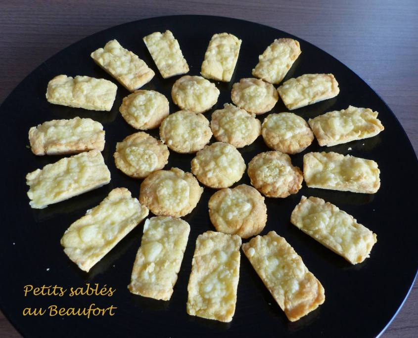 Petits sablés au Beaufort P1210222 R