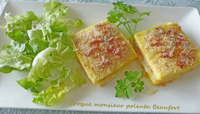 Croque monsieur polenta Beaufort P1270613 R