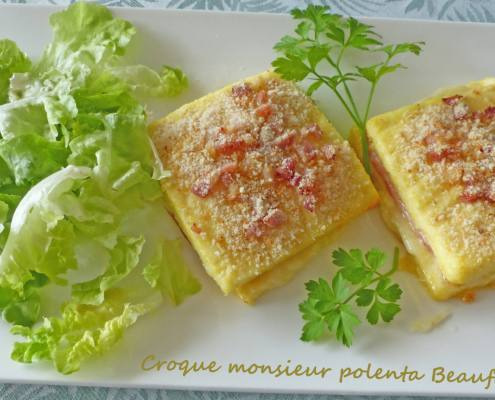 Croque monsieur polenta Beaufort P1270613 R
