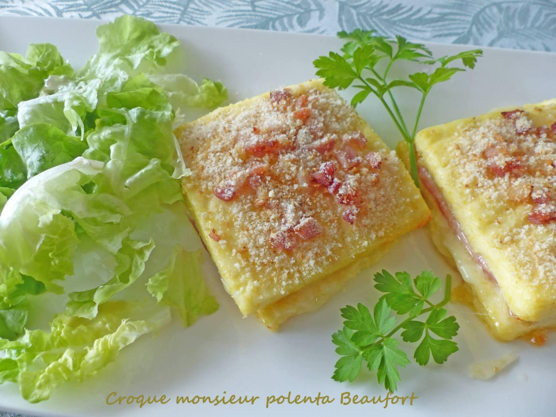 Croque monsieur polenta Beaufort P1270614 R