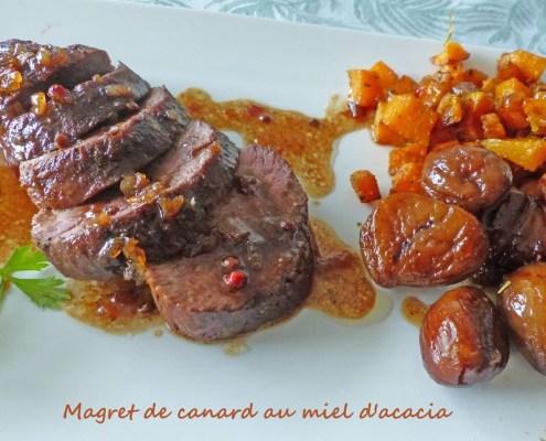 Magret de canard au miel d'acacia P1270906 R (Copy)