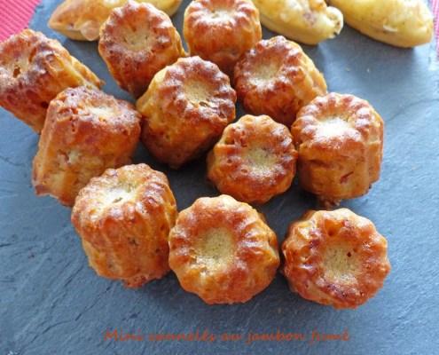 Mini cannelés au jambon fumé P1280195 R (Copy)