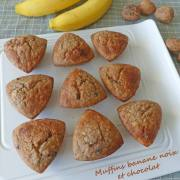 Muffins banane noix et chocolat P1270807 R