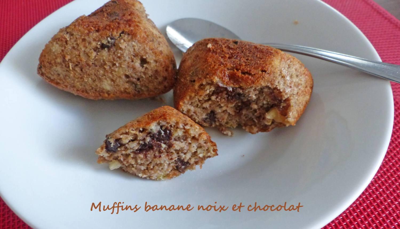 Muffins banane noix et chocolat P1270817 R