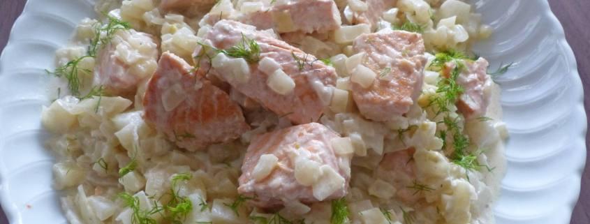 Fricassée de saumon au fenouil P1280272 R