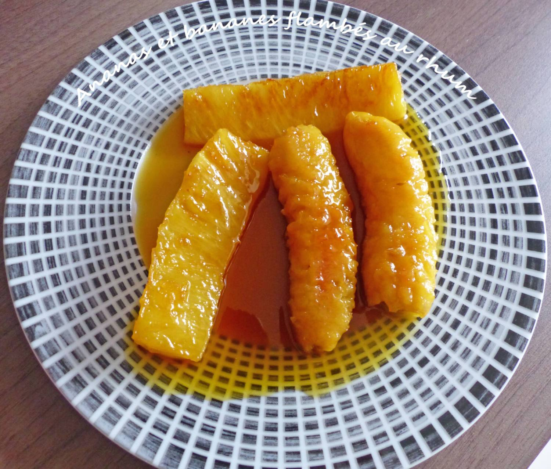 Ananas et bananes flambés au rhum P1280499 R