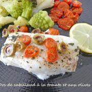 Dos de cabillaud à la tomate et aux olives P1000444 R (Copy)