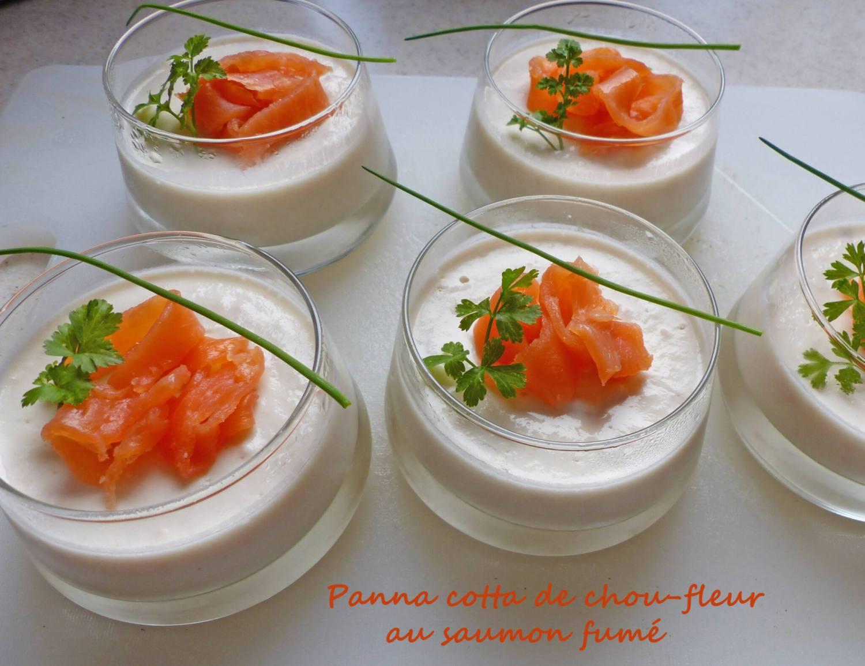 Panna cotta de chou-fleur au saumon fumé P1290205 R