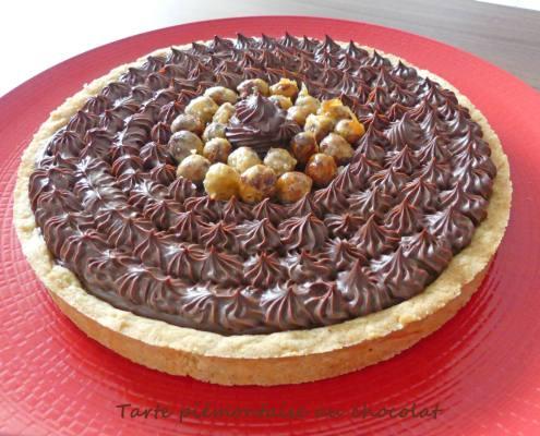Tarte piémontaise au chocolat P1000099 R