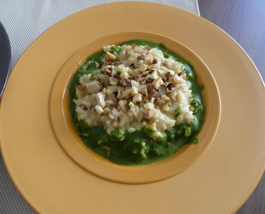 Risotto aux blettes et son coulis vert P1000743 (Copy)