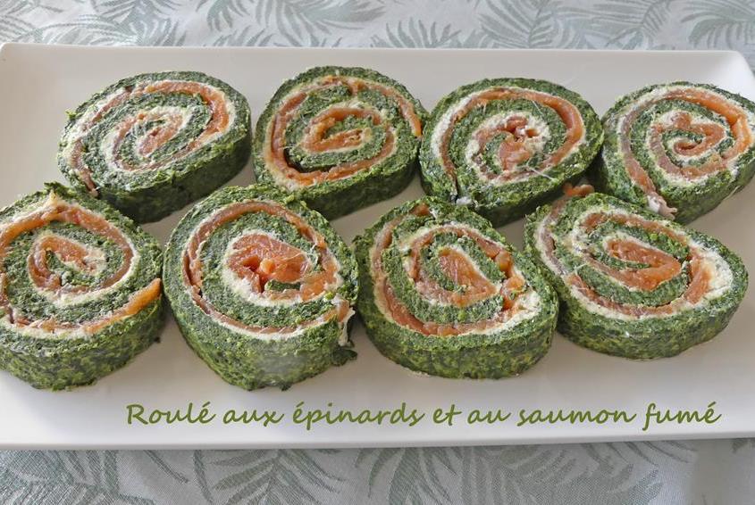 Roulé aux épinards et au saumon fumé P1000923 R (Copy)