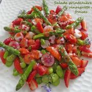 Salade printanière et vinaigrette de fraises P1010150 R (Copy)
