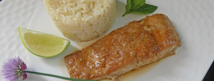 Pavés de saumon laqués au gingembre P1010559 R (Copy)