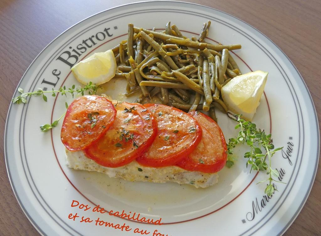 Dos de cabillaud et sa tomate au four P1020211 R (Copy)