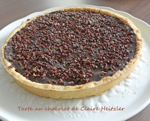 Tarte au chocolat de Claire Heitzler P1010655 R (Copy)
