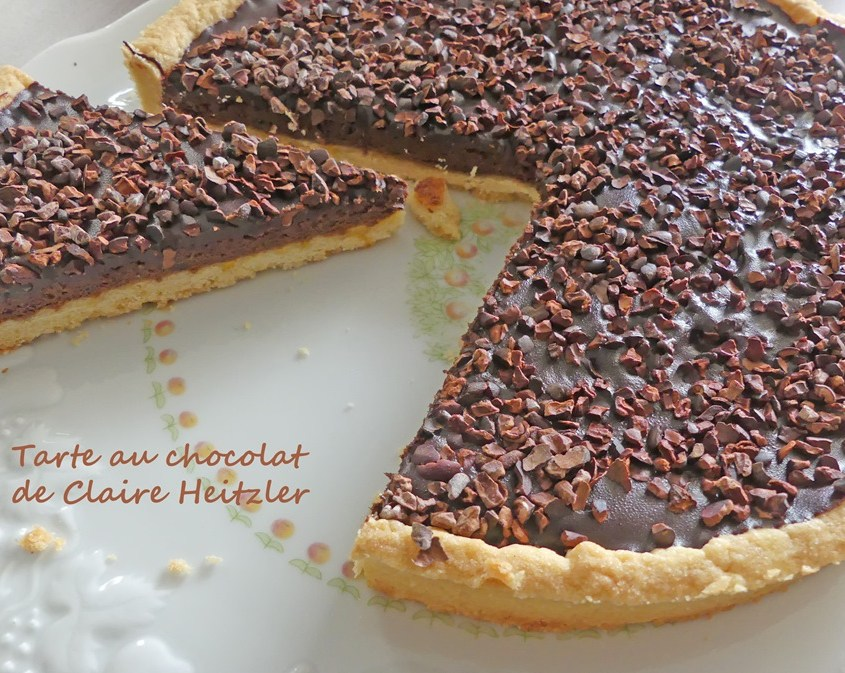 Tarte au chocolat de Claire Heitzler P1010674 R (Copy)
