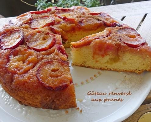 Gâteau renversé aux prunes P1020875 R (Copy)