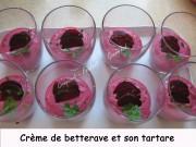 Crème de betterave et son tartare Index - mars 2009 080 copie