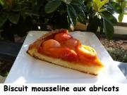 Biscuit mousseline aux abricots Index P1040643